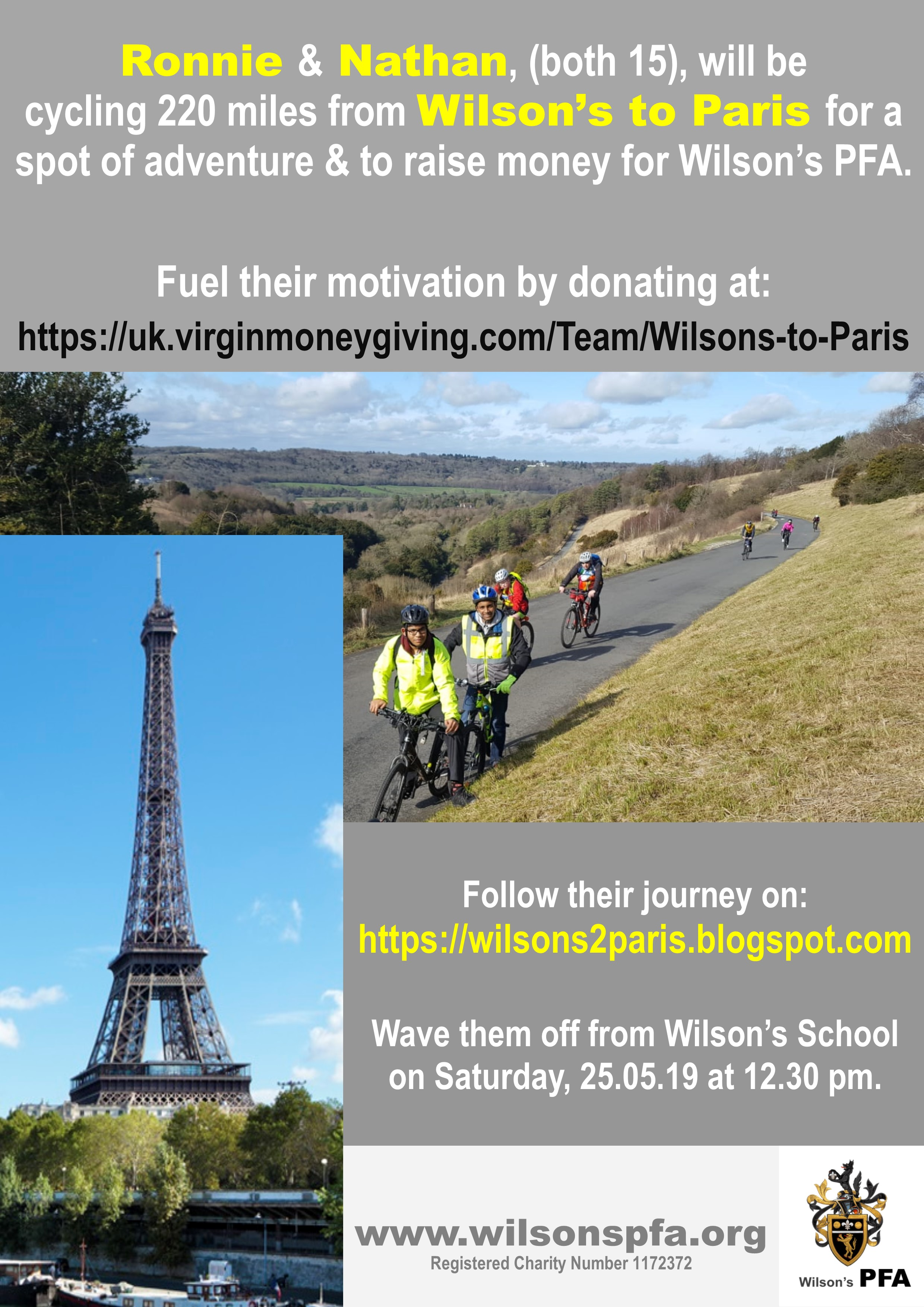 Wilsons to Paris